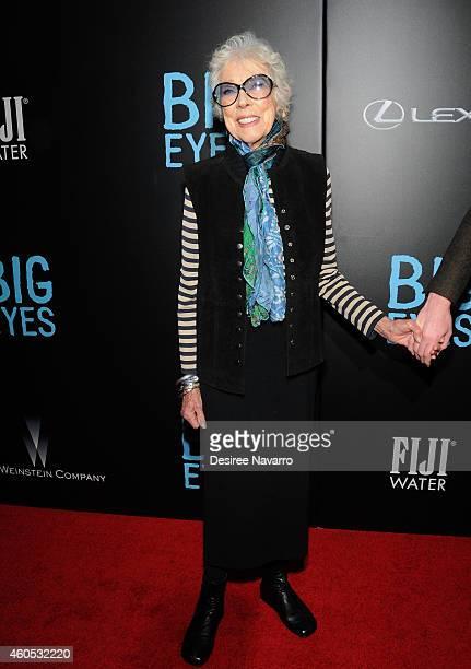"Artist Margaret Keane attends ""Big Eyes"" New York Premiere at Museum of Modern Art on December 15, 2014 in New York City."