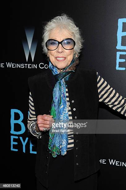 "Artist Margaret Keane attends the ""Big Eyes"" New York Premiere at Museum of Modern Art on December 15, 2014 in New York City."
