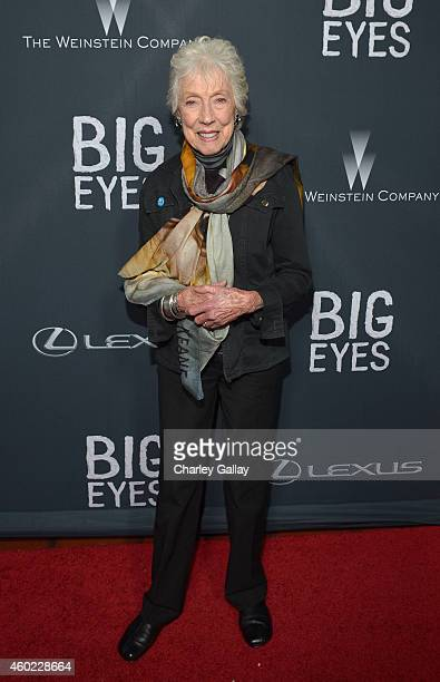 Artist Margaret Keane attends The Weinstein Company's Big Eyes Los Angeles special screening in partnership with Lexus at Ace Hotel on December 9...