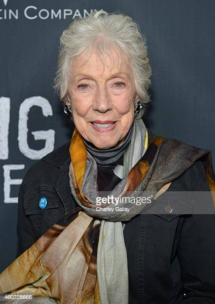 """Artist Margaret Keane attends The Weinstein Company's """"Big Eyes"""" Los Angeles special screening in partnership with Lexus at Ace Hotel on December 9,..."""