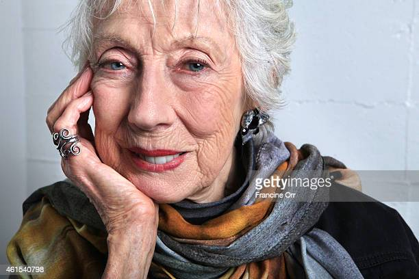 Artist Margaret Keane is photographed for Los Angeles Times on December 9, 2014 in Los Angeles, California. PUBLISHED IMAGE. CREDIT MUST READ:...