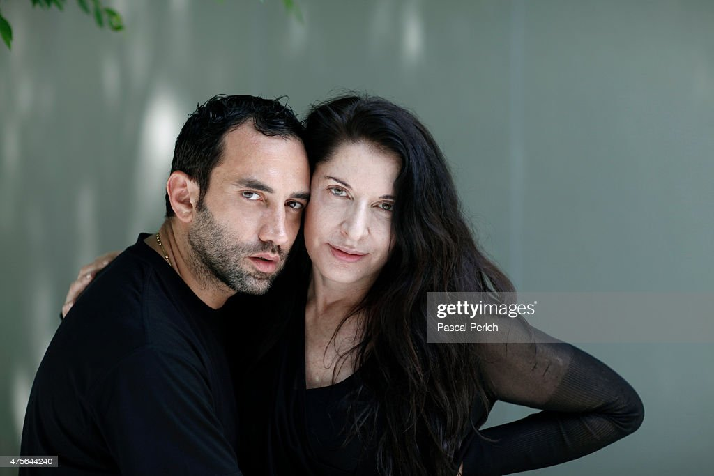 Marina Abramovic and Riccardo Tisci, Financial Times, June 2010