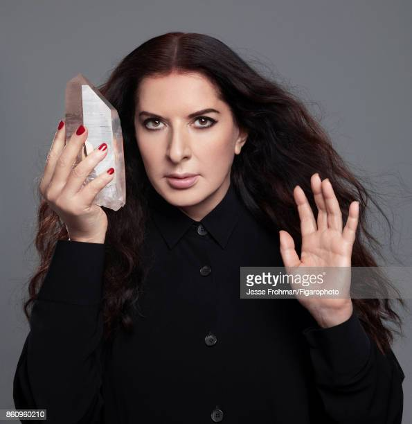 Artist Marina Abramovic is photographed for Madame Figaro on August 31 2017 in New York City PUBLISHED IMAGE CREDIT MUST READ Jesse...