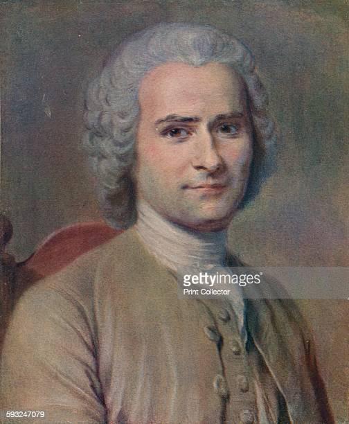 Artist MauriceQuentin de La Tour 'Jean Jacques Rousseau' 1753 JeanJacques Rousseau philosopher writer and composer Rousseau was a great influence...
