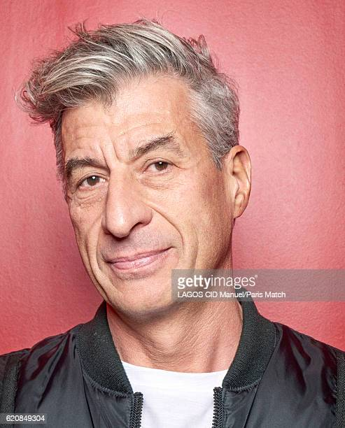 Artist Maurizio Cattelan is photographed for Paris Match on October 7 2016 in Paris France
