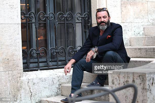 Artist Mauro Bergonzoli attends the Exhibition Opening of Mauro Bergonzoli at Bayerisches Nationalmuseum on September 18 2014 in Munich Germany