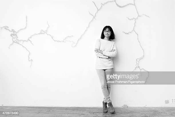 Artist Maya Lin is photographed for Madame Figaro on September 17 2013 in New York City PUBLISHED IMAGE CREDIT MUST READ Jesse...