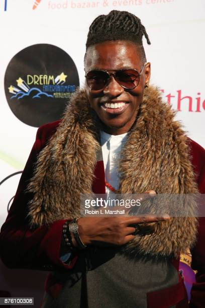 Artist Meaku arrives at the 2017 HAPAwards at Alex Theatre on November 18 2017 in Glendale California