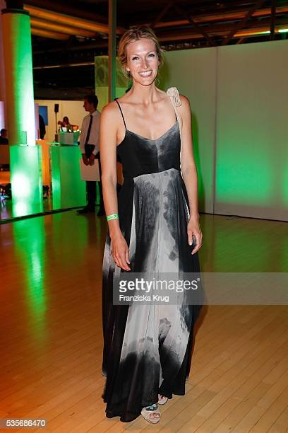 Artist Mia Florentine Weiss attends the Green Tec Award at ICM Munich on May 29, 2016 in Munich, Germany.