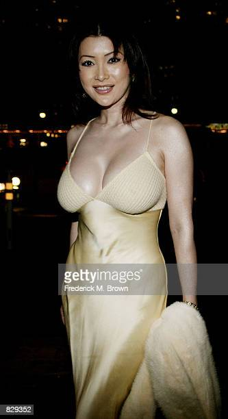 """Artist Mika Kano attends the """"12th Annual MusicCares Person Of The Year Award"""" February 25, 2002 in Beverly Hills, CA. Singer Billy Joel was honored..."""