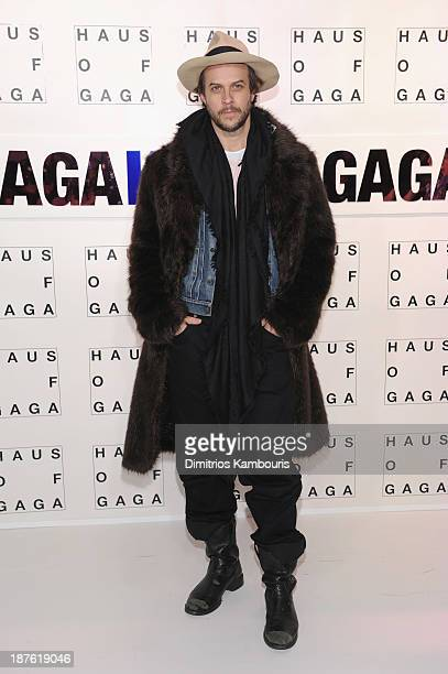 Artist musician Casey Spooner attends as Lady Gaga Presents 'artRave' at Brooklyn Navy Yard on November 10 2013 in the Brooklyn borough of New York...