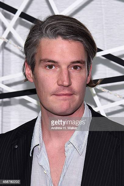 Artist Nate Lowman attends The Museum of Modern Art's 2014 Film Benefit Honoring Alfonso Cuaron at The Museum of Modern Art on November 10 2014 in...
