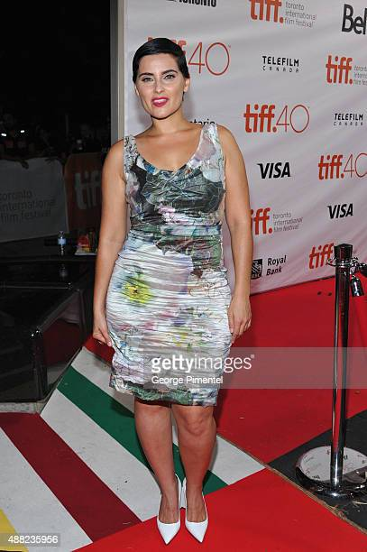 "Artist Nelly Furtado attends the ""Hyena Road"" premiere during the 2015 Toronto International Film Festival at Roy Thomson Hall on September 14, 2015..."