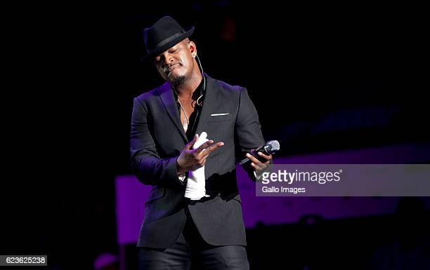 US artist NeYo performs during the Essence Festival All Star music concert at the Moses Mabhida Stadium on November 13 2016 in Durban South Africa...