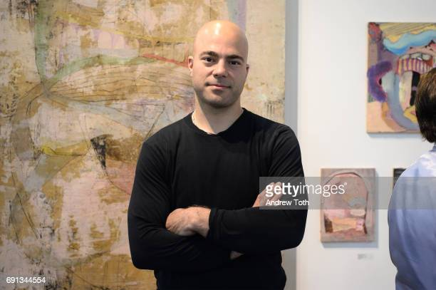Artist Nicolas Holiber attends The Other Art Fair at Brooklyn Expo Center on June 1 2017 in the Brooklyn borough of New York City