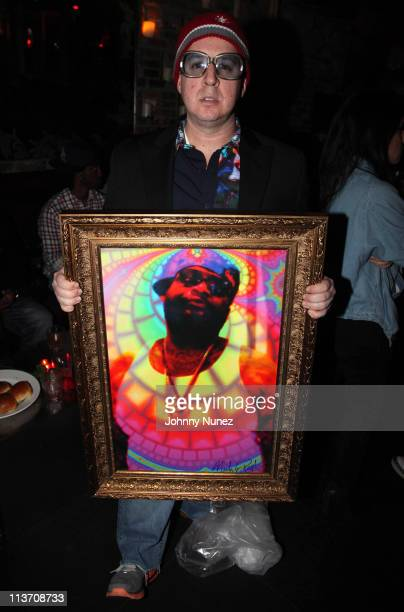 Artist Noah G Pop attends the Maybach Music Group Self Made Vol1 Album Listening Party at HK Lounge on May 4 2011 in New York City