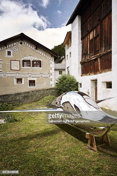 Artist Not Vital's home is photographed for Madame Figaro on July 14 2016 in Sent Switzerland CREDIT MUST READ Sebastien Agnetti/Figarophoto/Contour...