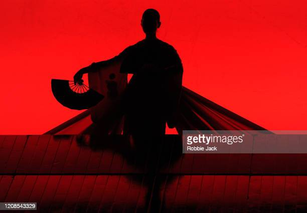 Artist of the company in the English National Opera's production of Giacomo Puccini's Madam Butterfly at the London Coliseum on February 24 2020 in...