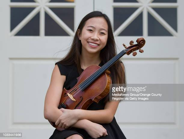 Artist of the week Claire Li a junior at Trabuco Hills High School recently received a perfect score on her SATs She is also the principal violist...