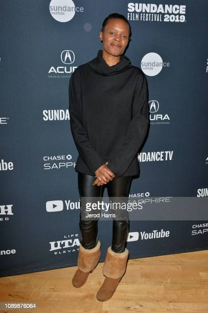 Artist Okwui Okpokwasili attends the Can Art Save Democracy Panel during the 2019 Sundance Film Festival at Filmmaker Lodge on January 26 2019 in...