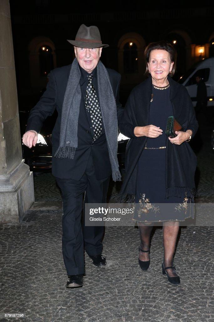 Roland Berger Celebrates His 80th Birthday In Munich : Nachrichtenfoto