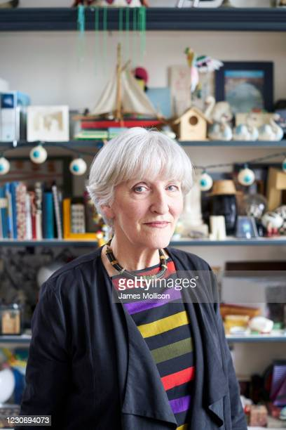 Artist, painter, sculptor, art collector and one of the co-founders of the Office of Metropolitan Architecture , Madelon Vriesendorp is photographed...