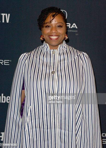 Artist Patrisse Cullors attends the Can Art Save Democracy Panel during the 2019 Sundance Film Festival at Filmmaker Lodge on January 26 2019 in Park...