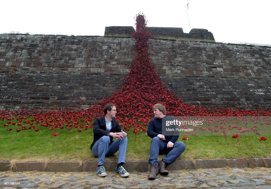Iconic Poppy Sculpture, Weeping Window, Opens at Carlisle Castle