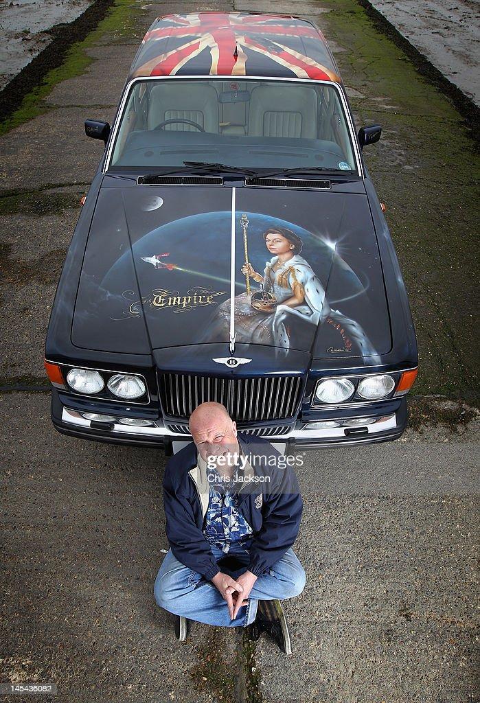 Artist Paul Karslake Creates Jubilee Bentley Mulsanne Art Project ...