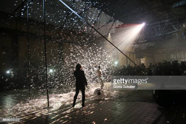 Artist performance during the 'When the Ordinary becomes Precious #CartierParty Berlin' at Old Power Station on November 2 2017 in Berlin Germany