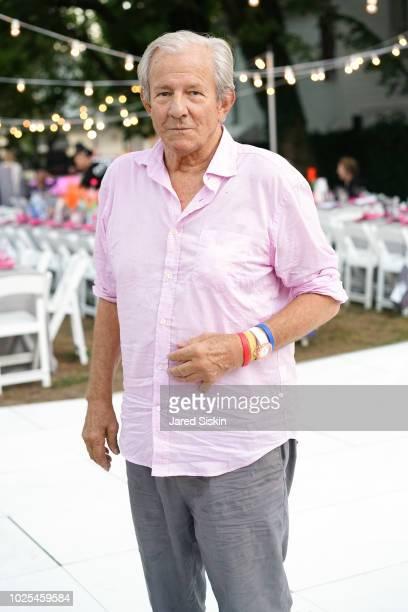 Artist Peter Beard attends SummerFest 2018 Honoring Peter Marino at Southampton Arts Center on August 30 2018 in Southampton New York