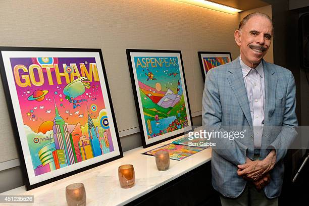 Artist Peter Max attends Gotham Magazine Celebrates its Summer Issue with Peter Max and The Humane Society of the United States at Loews Regency...