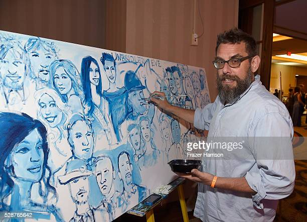 Artist Petersen Thomas attends Unbridled Eve Gala during the 142nd Kentucky Derby on May 6 2016 in Louisville Kentucky