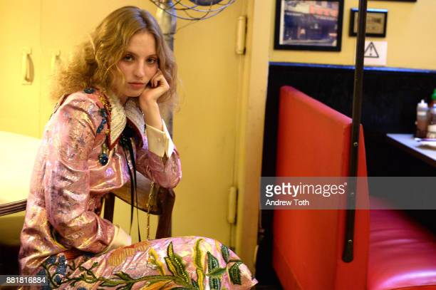 Artist Petra Collins attends the release of Petra Collins Coming of Age hosted by Gucci on November 28 2017 in New York City