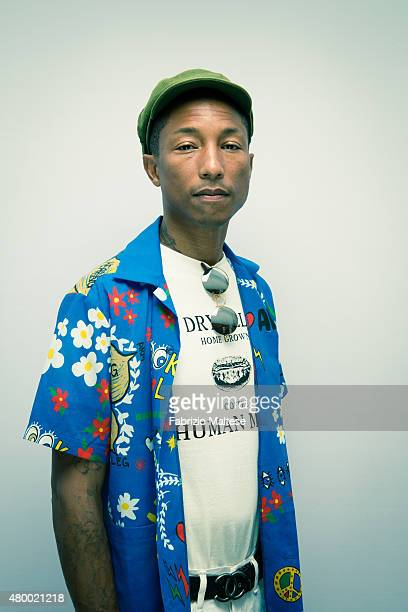 Artist Pharrell Williams is photographed for The Hollywood Reporter on May 15 2015 in Cannes France