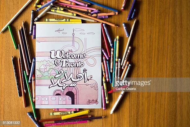 Artist Rafi Ghanaghounian, along with Nicole Baillargeon and Andrea Pearce have created a colouring book for Syrian refugee kids called Welcome to...
