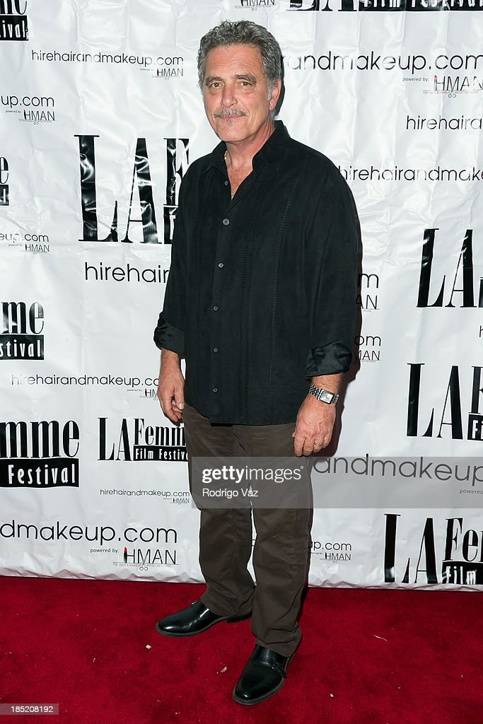 Artist Richard Gasparian attends the 9th Annual La Femme International Film Festival opening night gala premiere 'Psycho Circus' at The Renberg Theatre on October 17, 2013 in Los Angeles, California.