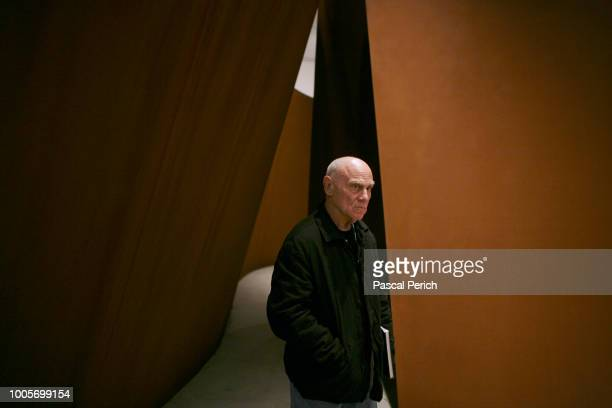 Artist Richard Serra is photographed on May 5, 2007 at the Museum of Modern Art in New York City.