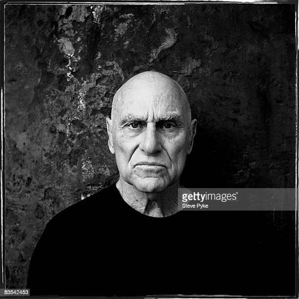 Artist Richard Serra poses for a portrait shoot in New York, USA.