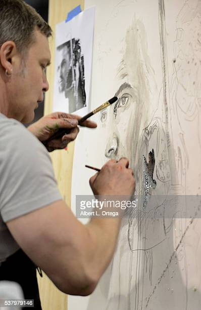 Artist Rob Prior on Day 2 of Wizard World Comic Con Philadelphia 2016 held at Pennsylvania Convention Center on June 3 2016 in Philadelphia...