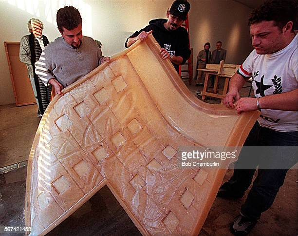 Artist Robert Graham who is designing dramatic and massive 30' x 30' bronze doors for the new Catholic Cathedral of Our Lady of the Angels which is...