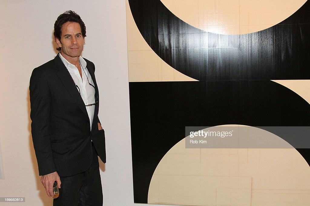 Artist Robert Kelly attends An Intimate Evening With The Contemporary Patrons Of The Watermill Center at 210 East 5 Street on January 15, 2013 in New York City.