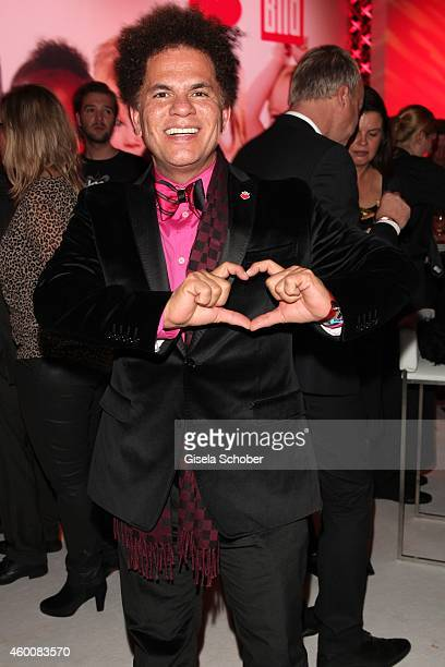 Artist Romero Britto attends the Ein Herz fuer Kinder Gala 2014 after show party at Tempelhof Airport on December 6, 2014 in Berlin, Germany.