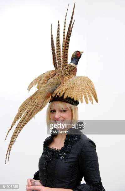 Artist Rosson Crow attends a Private View of Mosson Crow at White Cube on January 15 2009 in London England