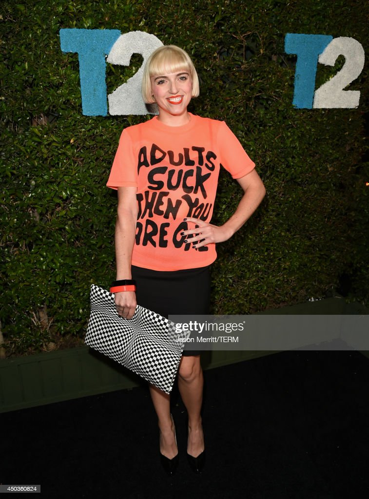 Artist Rosson Crow attends the Take-Two E3 Kickoff Party at Cecconi's Restaurant on June 9, 2014 in Los Angeles, California.