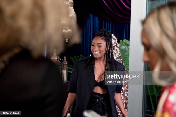 Artist Sade Joseph attends Spotify Honors Black Female Creatives For Black History Is Happening Now Campaign on October 22 2018 in Santa Monica...