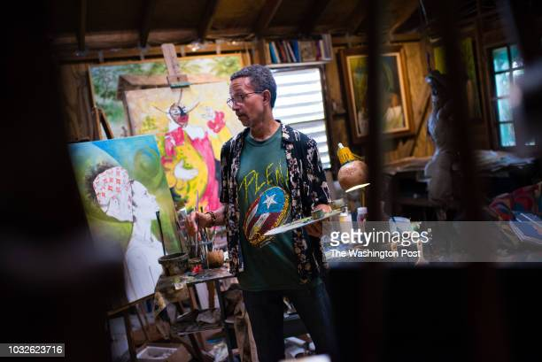 Artist Samuel Lind has lived his entire life in Loiza and his art draws largely from the towns AfroLatino culture A year after the hurricane Lind has...