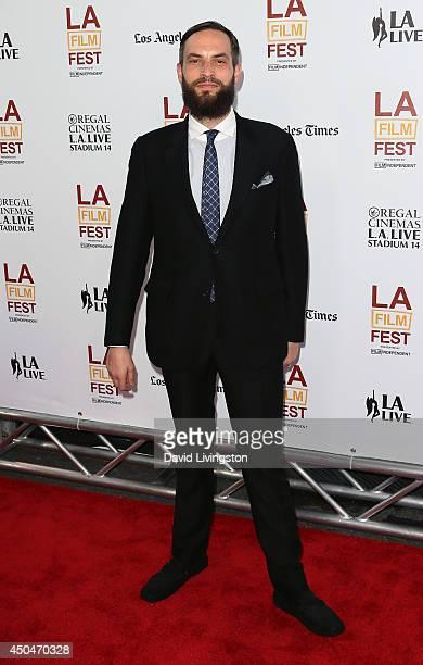 Artist Sandro Kopp attends the 2014 Los Angeles Film Festival opening night premiere of 'Snowpiercer' at Regal Cinemas LA Live on June 11 2014 in Los...