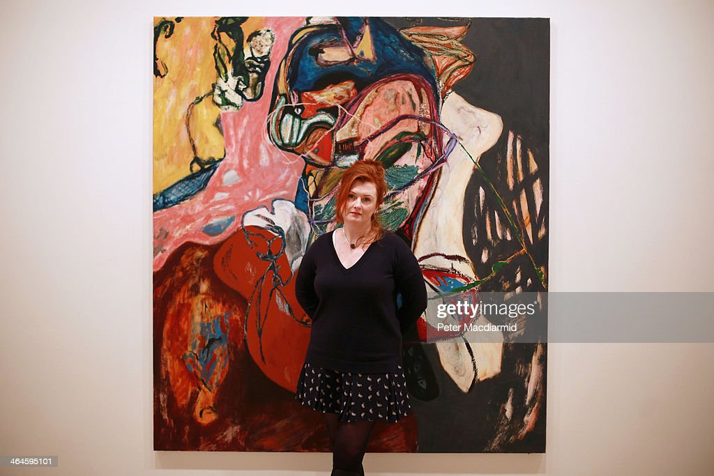 Saatchi Gallery Exhibition For  Emerging British Artists : News Photo