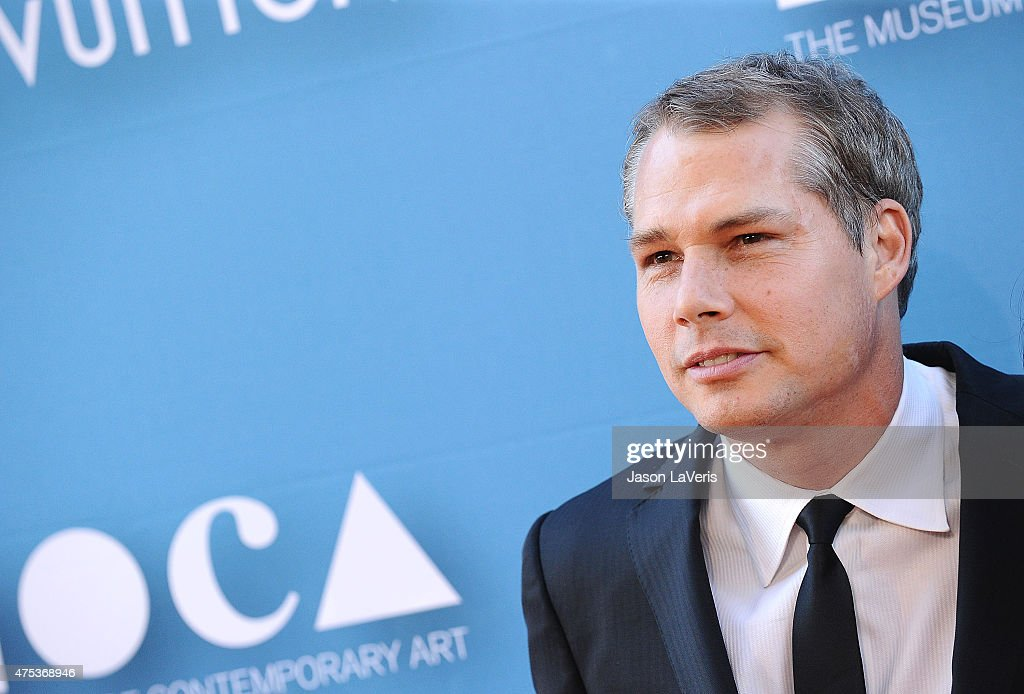 Artist Shepard Fairey attends the 2015 MOCA Gala at The Geffen Contemporary at MOCA on May 30, 2015 in Los Angeles, California.
